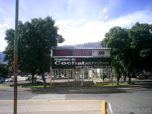 Inicio de la Avenida Simón Bolívar