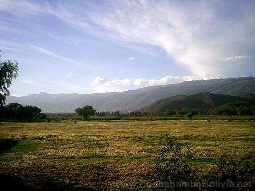 La serranía San Pedro vista desde el sur